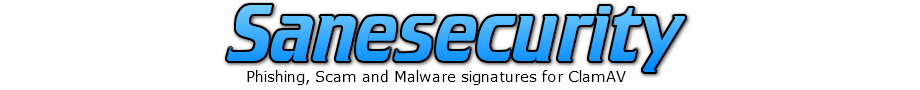 Sanesecurity ClamAV signature support